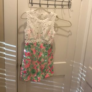 Adorable Lily romper